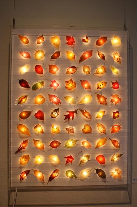 展示|「木の葉の灯り」|川村忠晴
